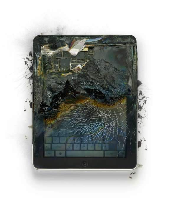 ipad overheated - Do not overcharge your ipad or attempt to use it as a cooking surface.
