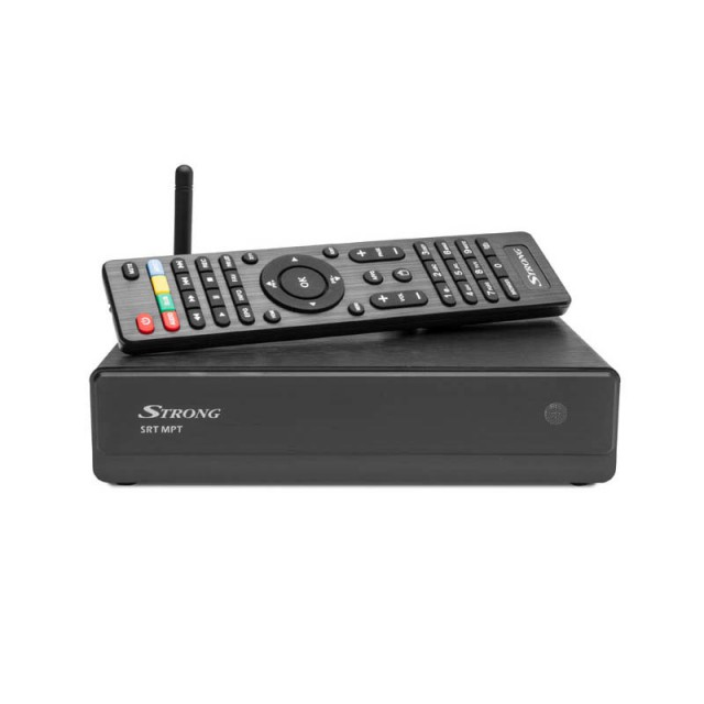Strong-MPT Netflix and Media Player with built-in DVB Set Top Box